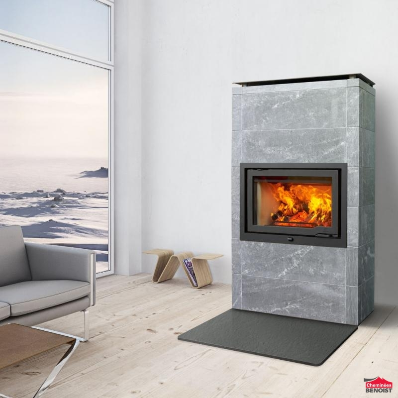 jotul po les de masse mixte en pierre ollaire et st aite po les bois b che en normandie. Black Bedroom Furniture Sets. Home Design Ideas