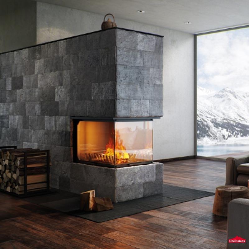 atraflam 3 vitres chemin es bois b che en normandie chemin es po les bois courseulles. Black Bedroom Furniture Sets. Home Design Ideas