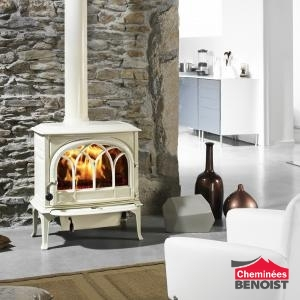 Jotul - F 400 - version blanche